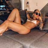 27. Juni 2020  Sofa oder Saint-Tropez? Bei Sophia Thomalla ist das alles nur eine Frage der Vorstellungskraft. Und wenn schon die Urlauber an der französischen Riviera ihren sexy Bikini-Body nicht zu sehen bekommen, können sich ihre Instagram-Follower über den Anblick freuen.