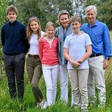 Prinzessin Elisabeth sticht modisch in ihrer Familie hervor