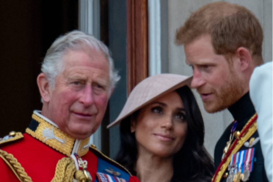 Prinz Charles, Herzogin Meghan, Prinz Harry