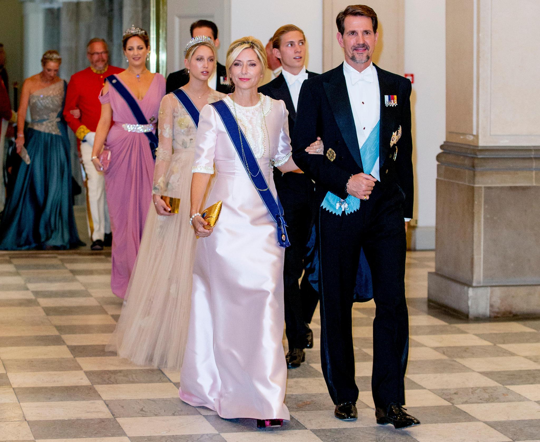 Marie-Chantal von Griechenland mit Ehemann Pavlos