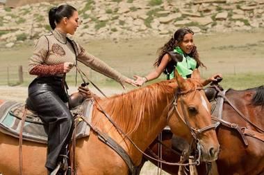 Kim Kardashian und Tochter North West