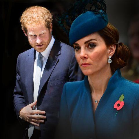 Prinz Harry und Herzogin Catherine