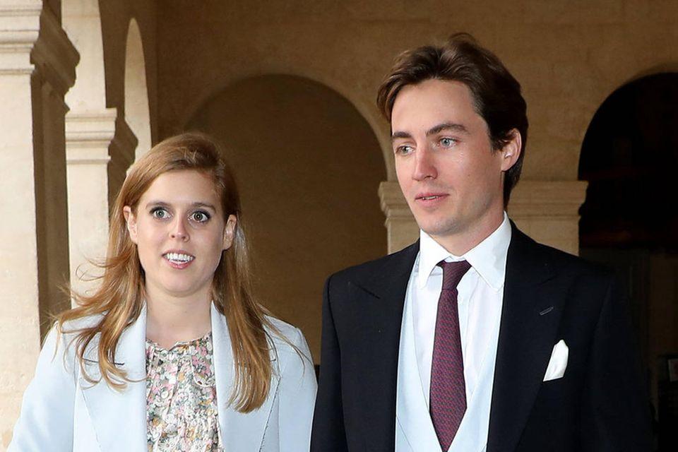 Prinzessin Beatrice und Edoardo Mapelli Mozzi