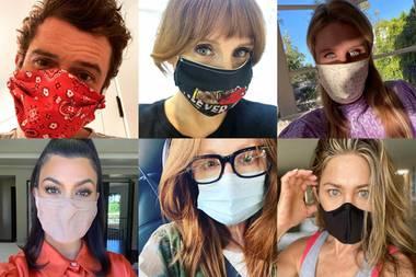 Masken-Challenge: Diese Stars zeigen Haltung!