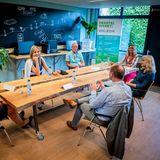 2. Juli 2020  Königin Máxima besucht die psychiatrischeEinrichtung Noord-Holland-Noord (GGZ NHN) in Schagen.
