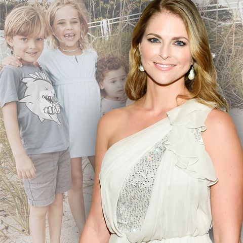 Prinzessin Madeleine hat drei Kinder: Prinz Nicolas, Prinzessin Leonore und Prinzessin Adrienne