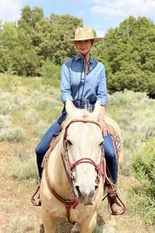 Ivanka Trump im Jeans-Look