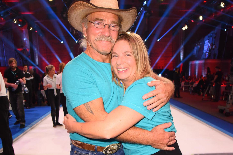 Manuela Reimann mit Ehemann Konny