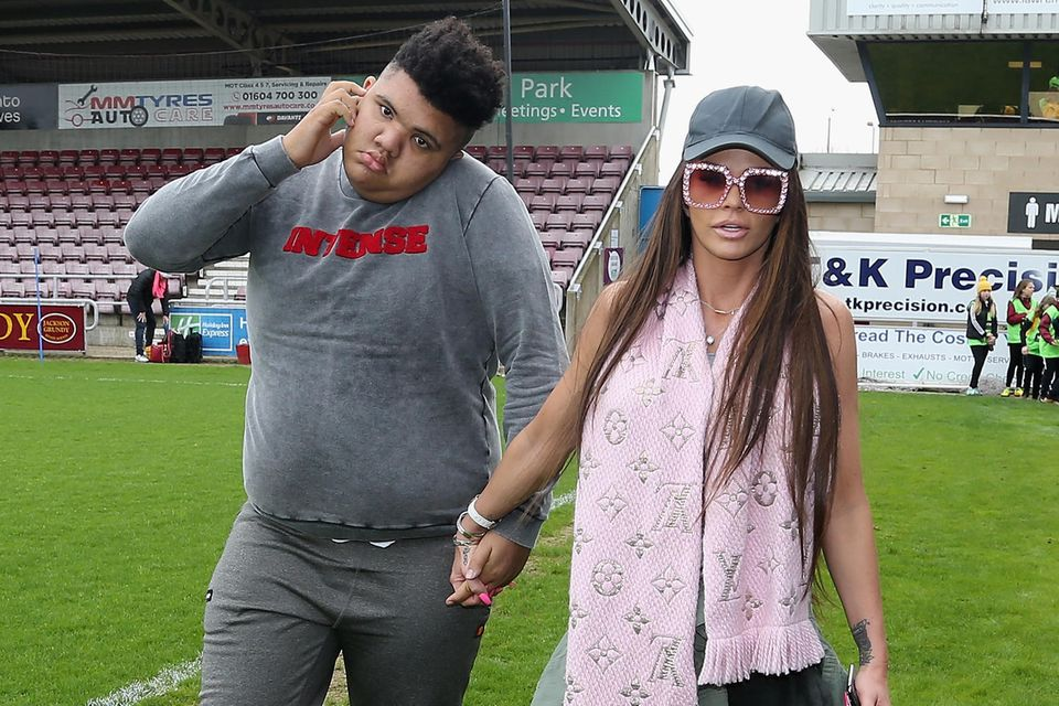 Harvey und Katie Price