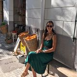 Ana Ivanovic im grünen Sommerkleid
