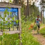 8. Juli 2020  Prinz Carl Philip und Prinzessin Sofia unternehmen mit ihren Söhnen einen Ausflug insidyllische Naturreservat Nynäs. Über schöne Waldwege spaziert die Familie zu einem an die Barrierefreiheit angepassten Aussichtspunkt, den Prinz Alexander, Herzog von Södermanland, als symbolischeGabe zu seiner Taufe geschenkt bekam.
