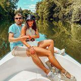 Erstes Instagrambild von Sarah Lombardi und Julian Büscher.