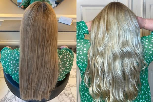 Links: Vorher, Rechts: Nachher