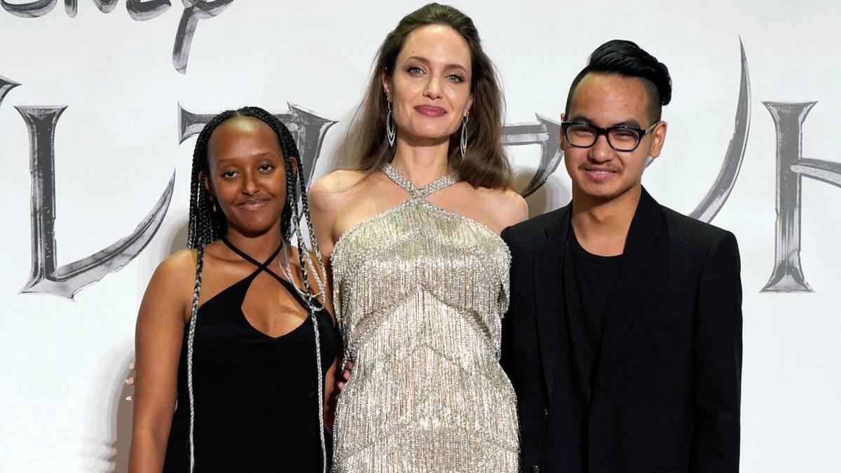 """Angelina Jolie schwärmt: Tochter Zahara ist """"eine außergewöhnliche, afrikanische Frau"""""""