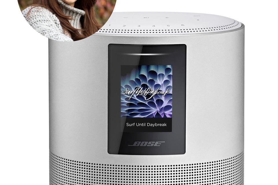 Musik versüßt unseren Alltag - findet Redakteurin Ilka und test den neuen Home Speaker 500.