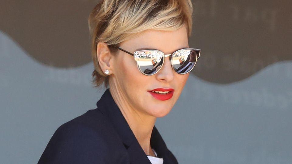 Charlene von Monaco  nackt