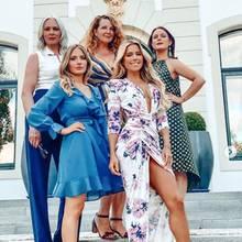 """Sylvie Meis und ihre - wie sie es nennt - """"Girls Gang"""" feiern den Junggesellinnenabschied der Moderatorin."""
