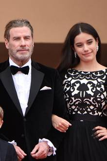 Kelly Preston und John Travolta mit den Kindern Ella Bleu Travolta und Benjamin Travolta