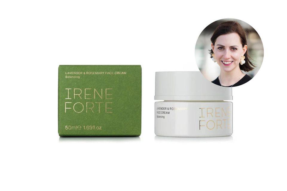 Erfrischende Pflege und der Duft von Bella Italia: Kathrin ist völlig begeistert von der Tagescreme der Wellness-Spezialistin Irene Forte.