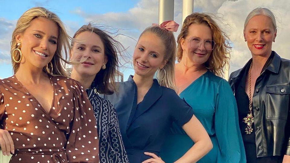 Sylvie Meis und ihre Freundinnen