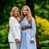 Der Apfel fällt nicht weit vom Stamm: Máxima und Catharina-Amalia sind ein ganz bezauberndes Mutter-Tochter-Duo.