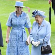 Prinzessin Beatrice und ihre Großmutter, Ihre Majestät die Queen, 2019.