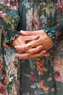 Königin Letizia trägt Ring von Karen Hallam
