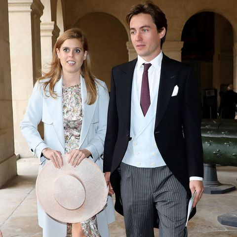 Prinzessin Beatrice undEdoardo Mapelli Mozzi