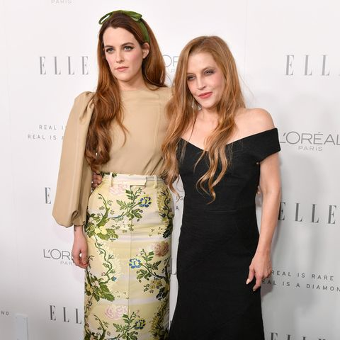 Riley Keough + Lisa Marie Presley