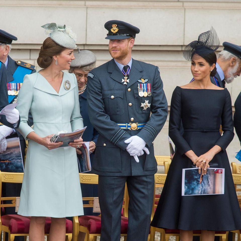 Herzogin Catherine, Prinz Harry, Herzogin Meghan