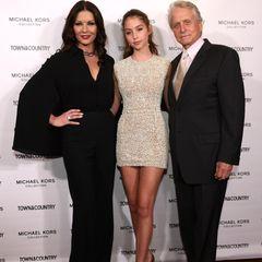 Catherine Zeta-Jones, Carys Douglas und Michael Douglas bei einem Event in New York.