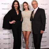 Catherine Zeta-Jones, Carys Douglas und Michael Douglas bei einem Event in New York.