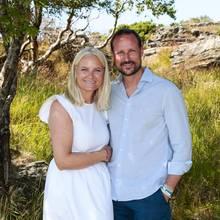 Kronprinzessin Mette-Marit und Kronprinz Haakon von Norwegen