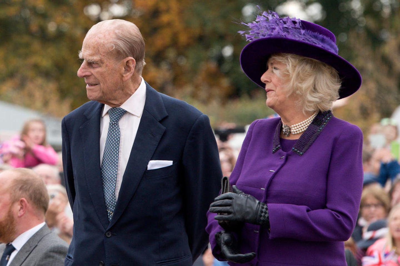Prinz Philip und Herzogin Camilla