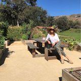 Frisch und erholt geht es ab in den Garten. Cindy Crawford baut ihr eigenes Gemüse wie Möhren oder Radieschen an, erntet es und kocht daraus leckere, gesunde Gerichte.