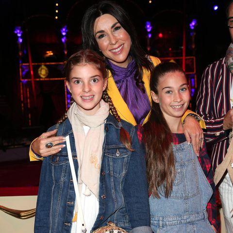 Judith Williams mit ihren Töchtern Sophia und Angelina