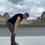 Und der Besuch im Louvre mit passenden Touri-Foto der Glaspyramide darf natürlich auch nicht fehlen.