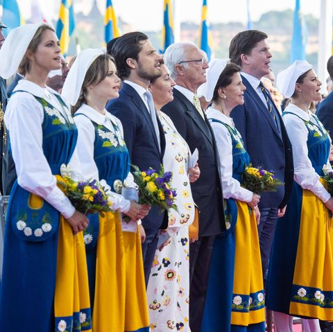 Die schwedische Königsfamilie.