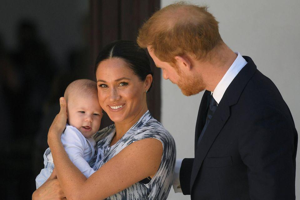 Herzogin Meghan, Prinz Harry und Sohn Archie