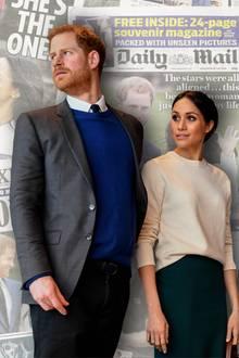Prinz Harry und Herzogin Meghan:Mal wieder stehen sie in der Kritik.