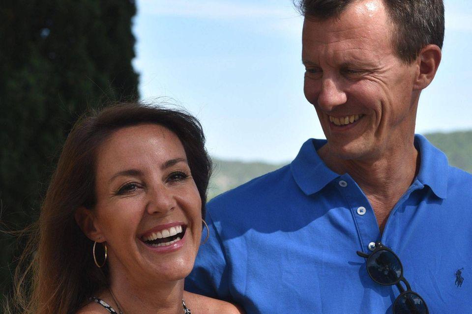 Nur wenige Stunden vor dem Hirninfarkt wirkte Prinz Joachim ausgelassen