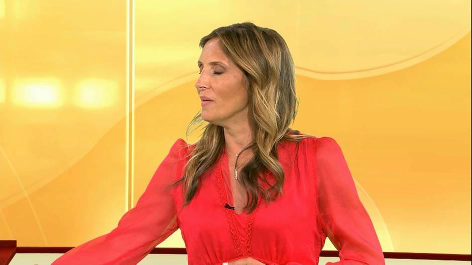 Roberta Bieling: Schwächenafall in Live-Sendung