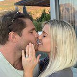 Ja, sie will! Lady Amelia Spencer, Cousine von Prinz William und Prinz Harry, hat sich verlobt. Langzeit-Freund GregMallett hat in Südafrika um ihre Hand angehalten. Dort lernten sie sich vor fast zehnJahren an der Universität kennen.
