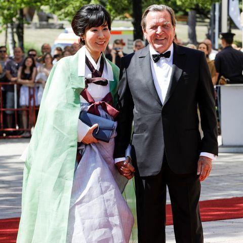 Soyeon Schröder-Kim + Gerhard Schröder