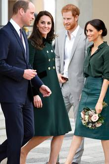 Prinz William, Herzogin Catherine, Prinz Harry und Herzogin Catherine