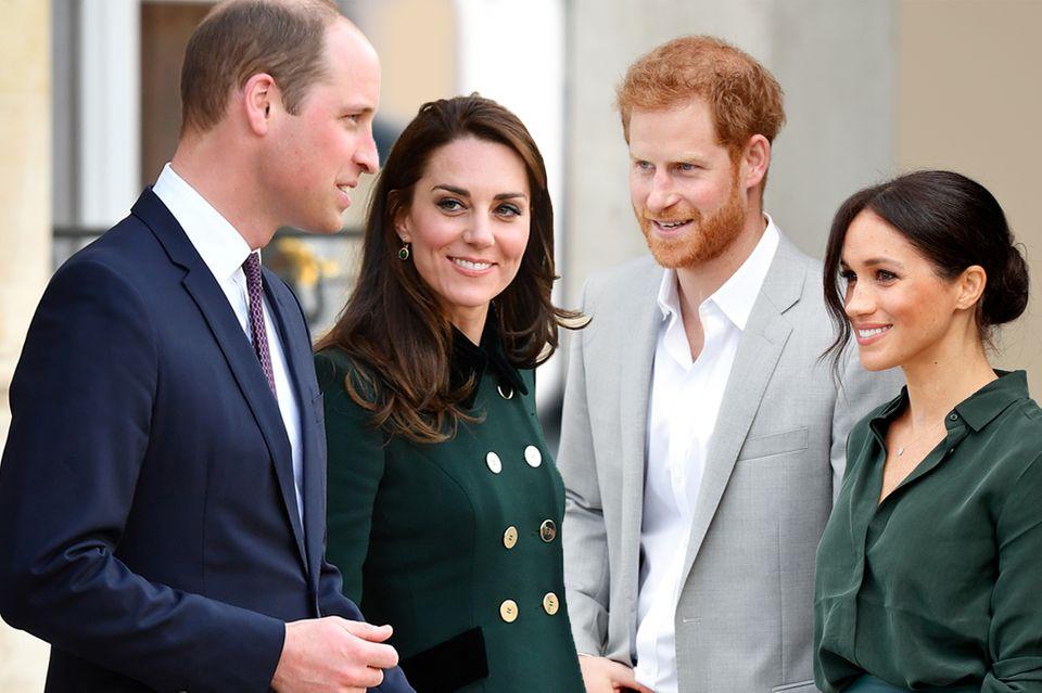 Prinz William, Herzogin Catherine, Prinz Harry und Herzogin Catherine
