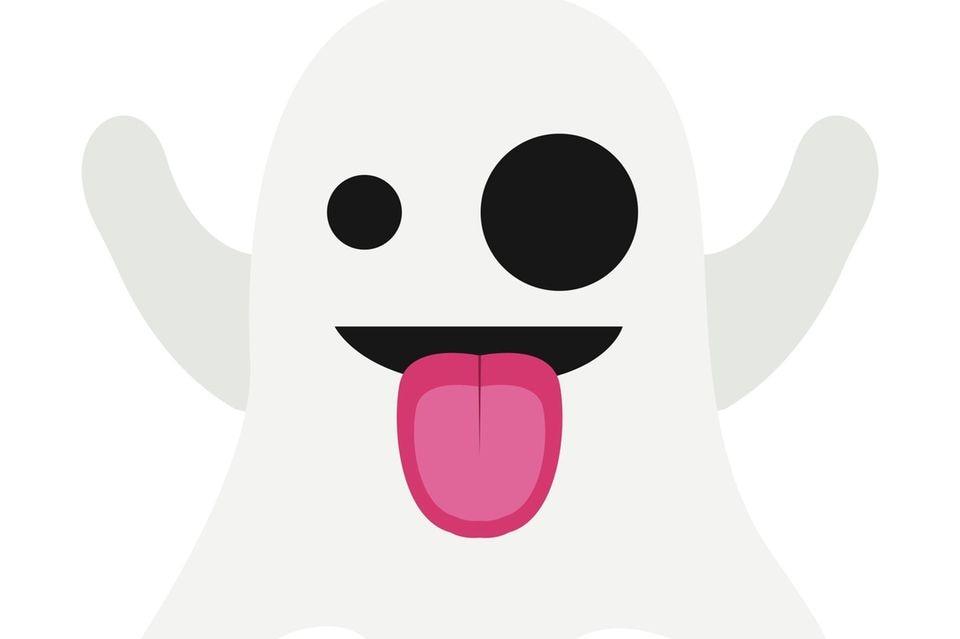 Das Geist-Emoji.