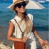 31. Juli 2020  Sylvie Meis urlaubt gerade mit ihrem Verlobten Niclas Castello in Saint Tropez. Ausflüge zum Strand in stylischen Sommeroutfits gehören da zur Tagesordnung.
