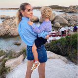 29. Juli 2020  Chiara Ferragni verbringt den Sommer mit ihren Liebsten auf Sardinien. Es wird am Pool relaxt, oder im Meer geschwommen. Nun geht es für die Familie auf zum Dinner in bester Strandlage.
