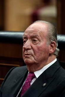 Der spanische Ex-König Juan Carlos